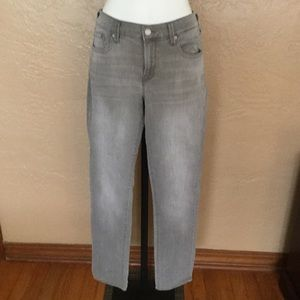 Old Navy Gray Acid Wash Original Mid-rise Jeans 4